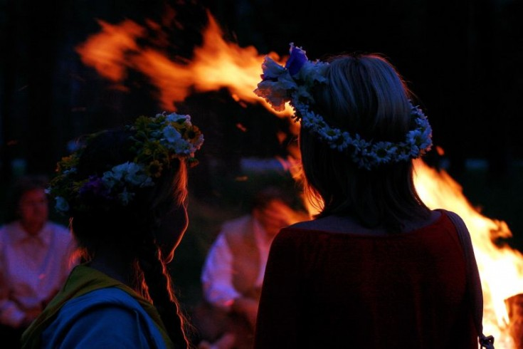 lielupe midsummer celabration in latvia