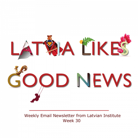 weekly good news newsletter from Latvia