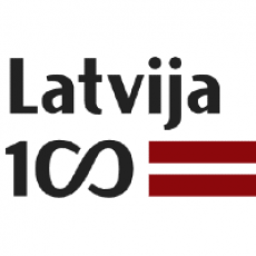 Latvian Institute partner LV100 logo